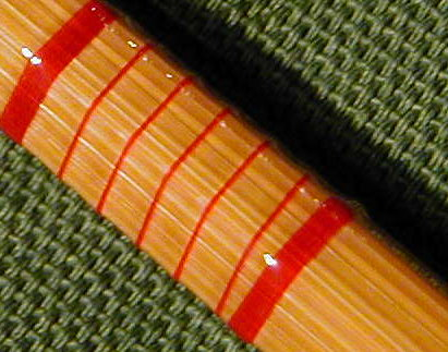 Canne in bambù Pesca a mosca
